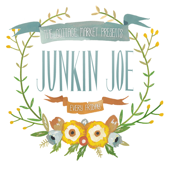 Upcyling, Vintage Fun, Home Decor and More with Junkin Joe