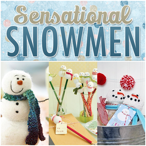 Sensational Snowman Crafts for the Holidays