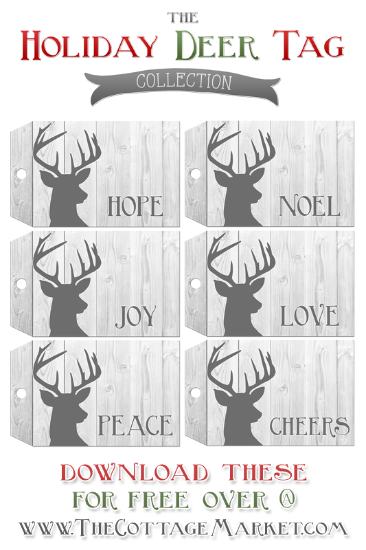 TheCottageMarket-Holiday-Deer-Tags-Tower