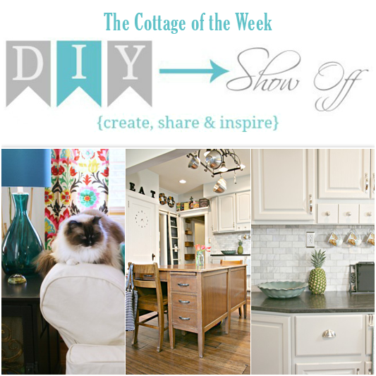 Home Tour DIY Showoff is our Cottage of the Week