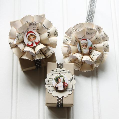 Sensational Sheet Music Christmas Ornament Diy The Cottage Market Easy Diy Christmas Decorations Tissureus