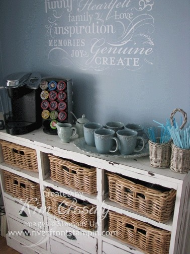 Coffee And Tea Bars For The Holidays The Cottage Market