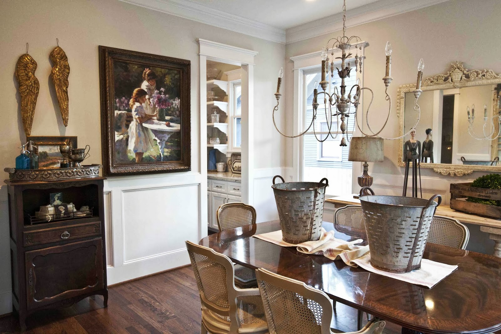 Home tour the cottage of the week update the cottage market for A dining room in french