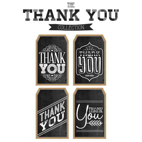 Free Printable Thank You Chalkboard Tags & a Happy Thanksgiving