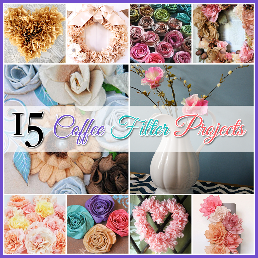 15 Coffee Filter Projects The Cottage Market