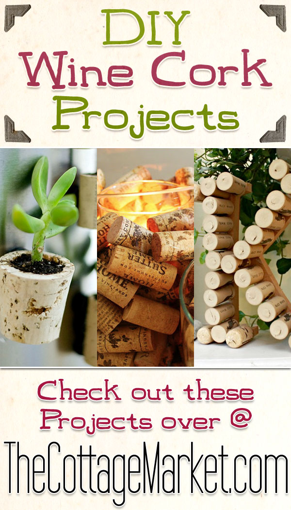 diy wine cork projects the cottage market