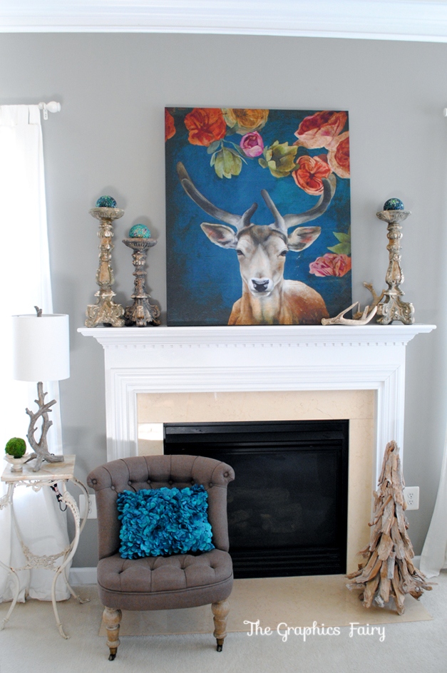 Family-Room-Mantel-GraphicsFairy