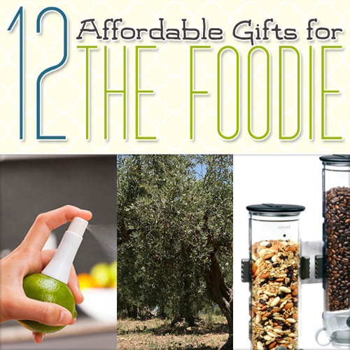 12 Affordable Gifts for the Foodie