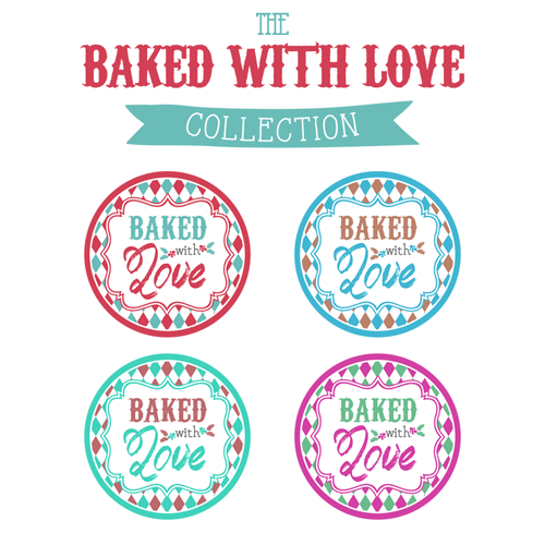 Baked with Love Printable Tags a Gift to YOU!