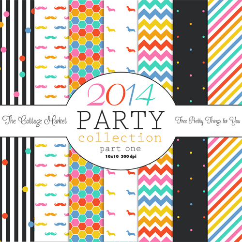 Digital Paper Pack A gift for you! Free Scrapbooking Paper Pack