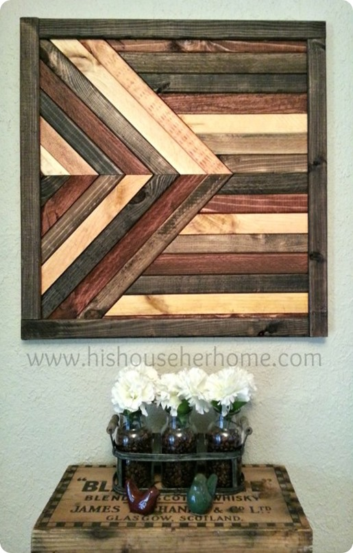 This gorgeous DIY reclaimed wood project can be yours without a trip to Pottery Barn