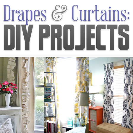 Drapes & Curtains DIY Projects