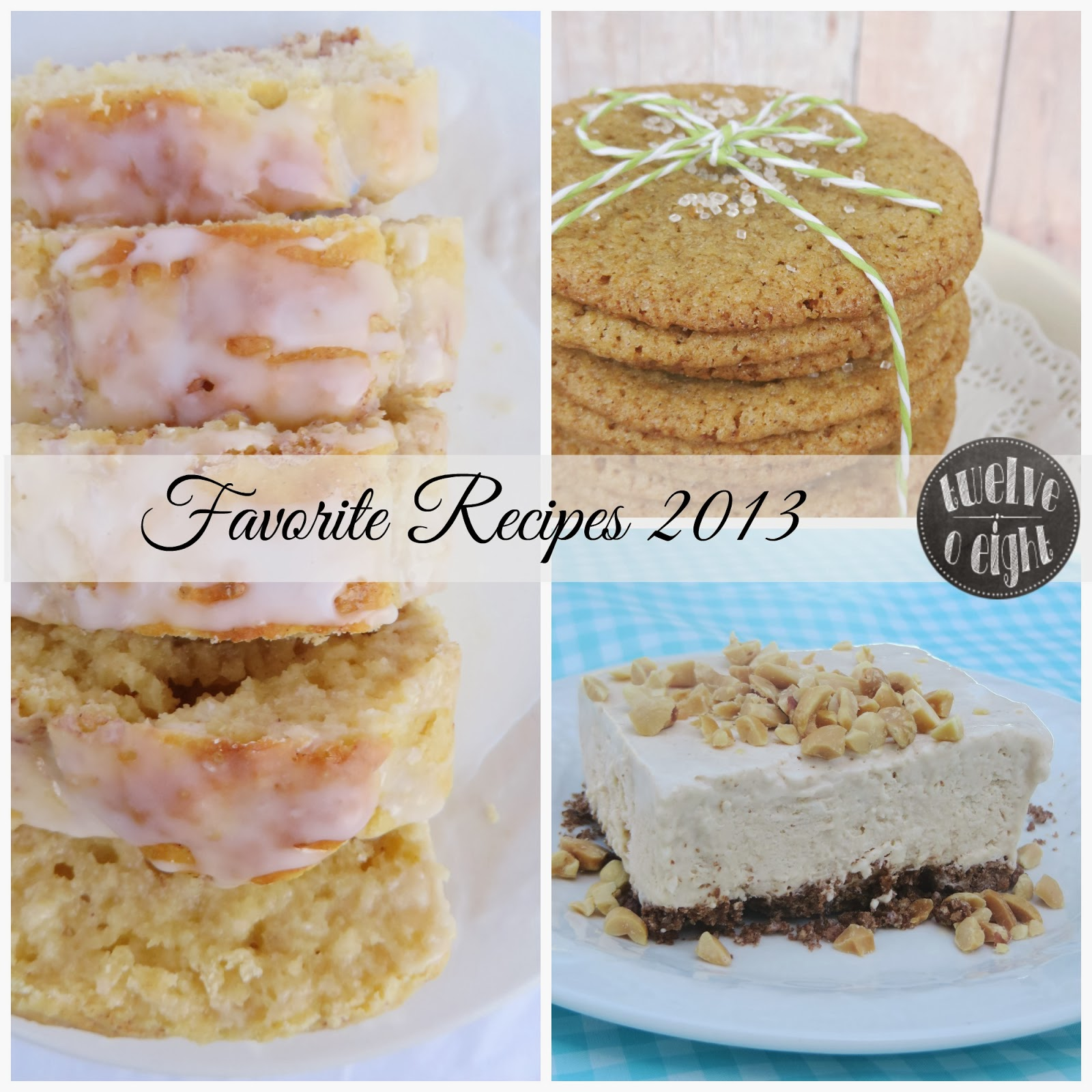 top recipes twelveOeight 2013