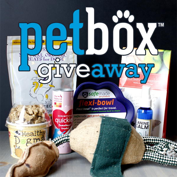 PetBox Giveaway! And a way to Help RESCUE