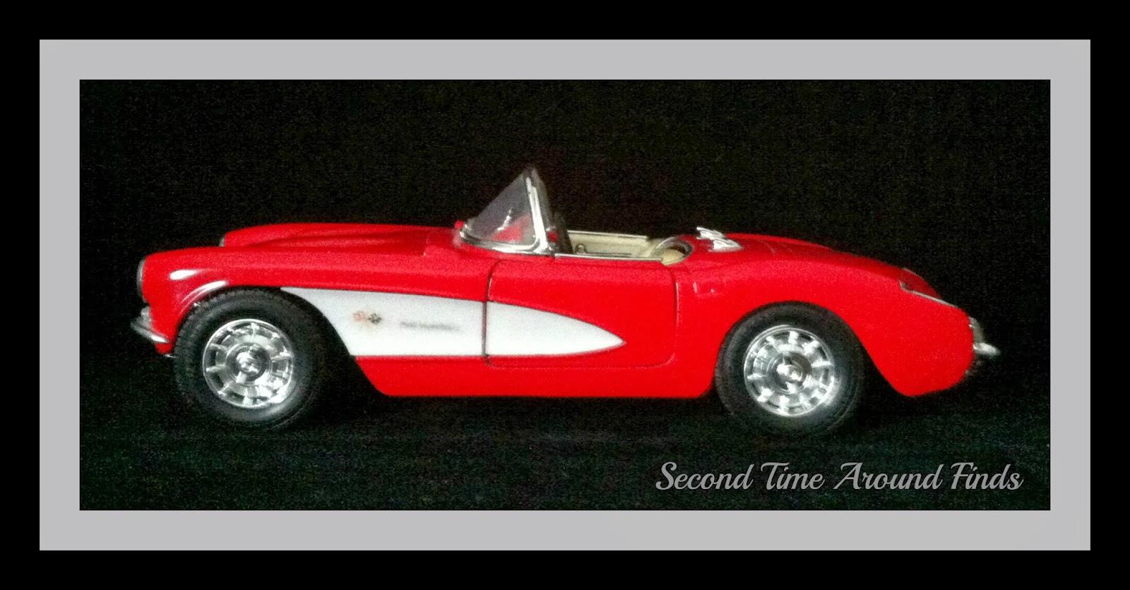 Red Corvette 1