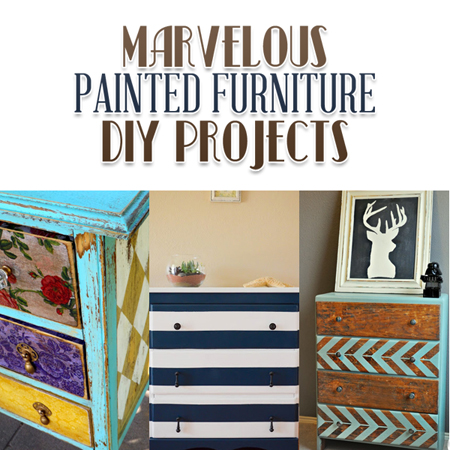 Marvelous Painted Furniture DIY Projects