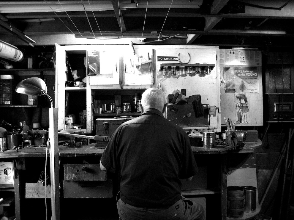 george-in-his-workshop