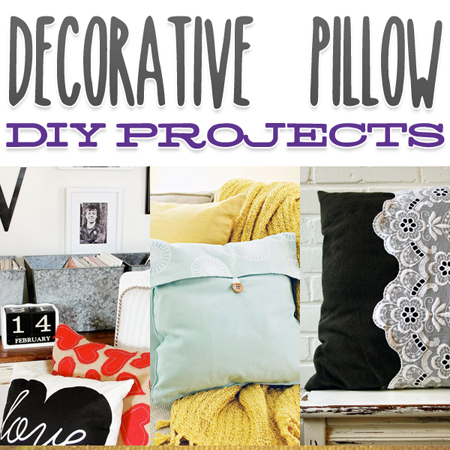 Decorative Pillow DIY Projects