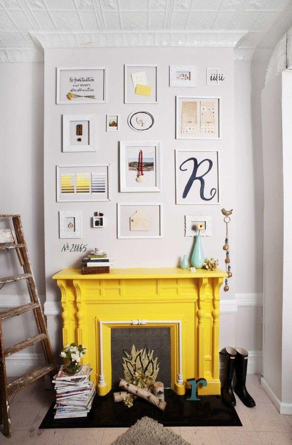 Trend Alert! Pops Of Yellow In Home Décor