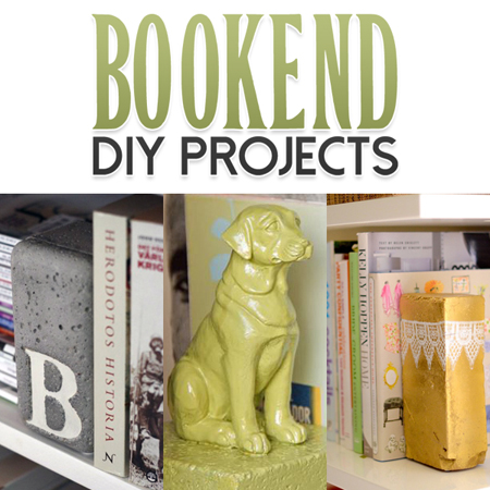 Bookend DIY Projects