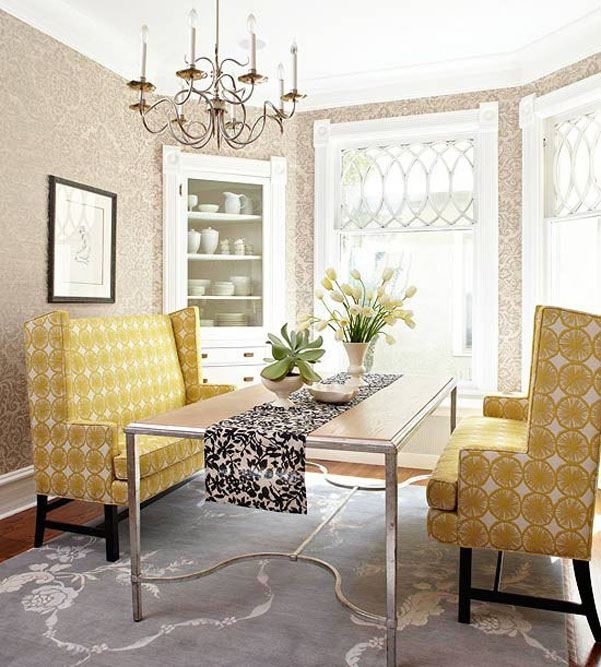 Decorating decorating with pops of yellow {a 2014 home decor trend} - the
