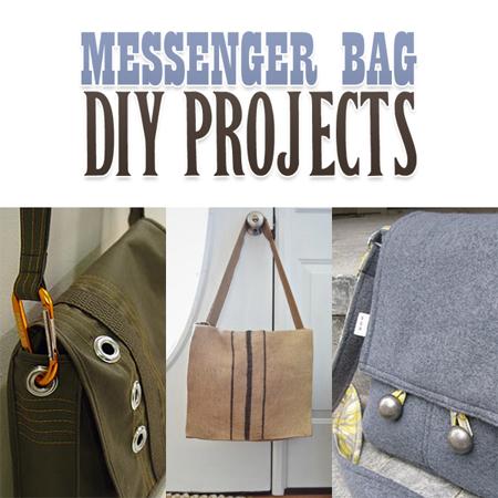 Messenger Bag Diy Projects The Cottage Market