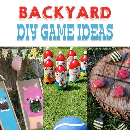 Backyard Diy Game Ideas The Cottage Market