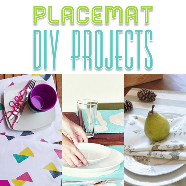 Placemat Diy Projects The Cottage Market