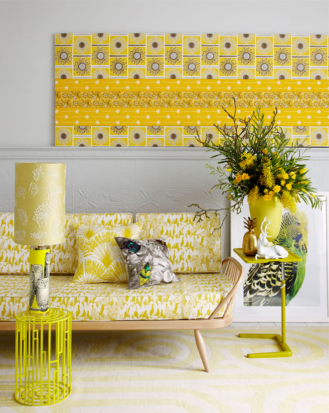 Decorating with POPS of Yellow {A 2014 Home Decor Trend} - The ...