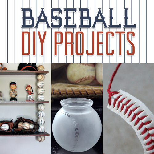 Baseball diy projects the cottage market for Baseball bats for crafts