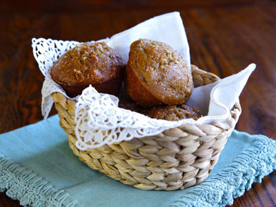 The Shiksa in the Kitchen...Seven Species Muffins
