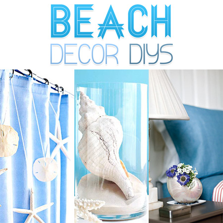 beach decor diy projects the cottage market. Black Bedroom Furniture Sets. Home Design Ideas