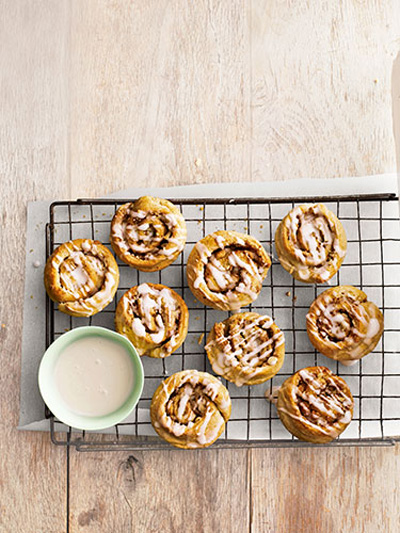Country Living...Almond Cinnamon Buns