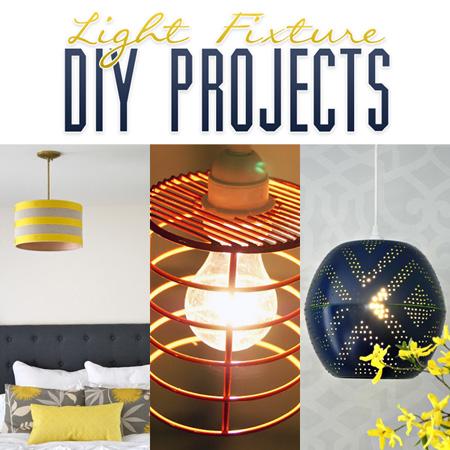 Light Fixture DIY Projects