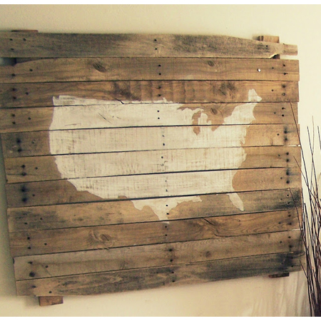 Kelly Simon Says...MacGyvered Pallet Art