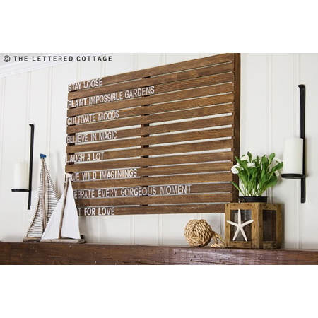 The Lettered Cottage...Ideas for Summer
