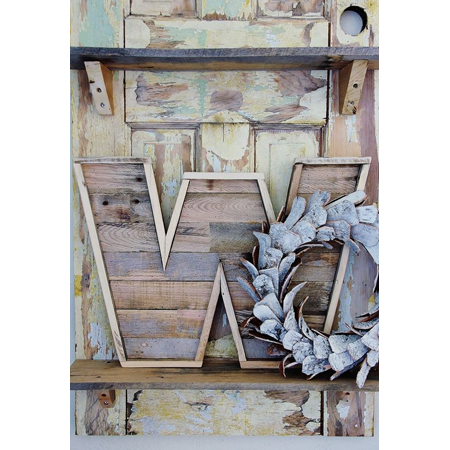 Thistlewood Farms...How to Make a Pallet Wood Letter