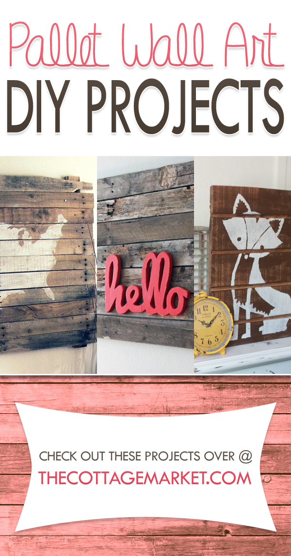 Pallet Wall Art DIY Projects