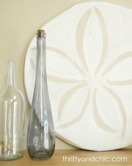 Thrifty & Chic...Pottery Barn Knock-Off: Oversized Sand Dollar