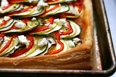 Smitten Kitchen...Ratatouille Tart