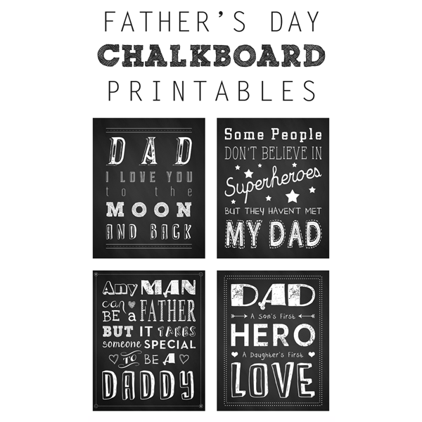 photo relating to Free Printable Fathers Day Tags referred to as No cost Fathers Working day Artwork Printables - The Cottage Marketplace
