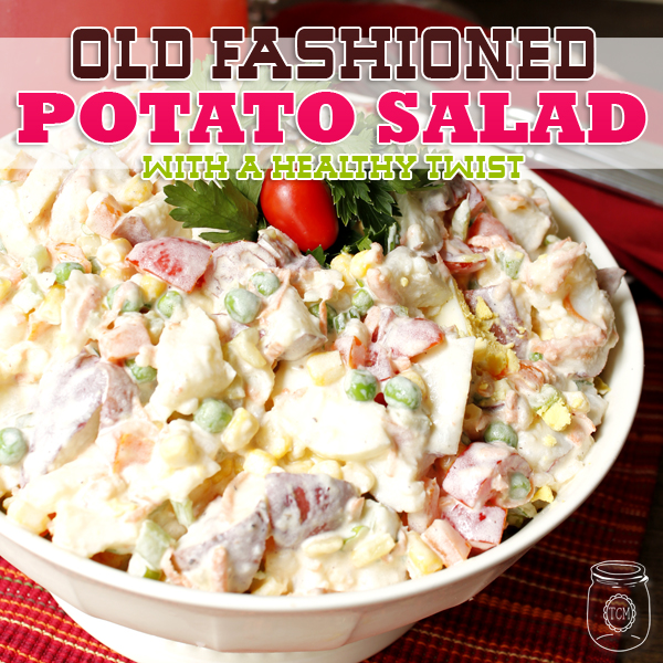 Old Fashion Potato Salad with a Healthy Twist