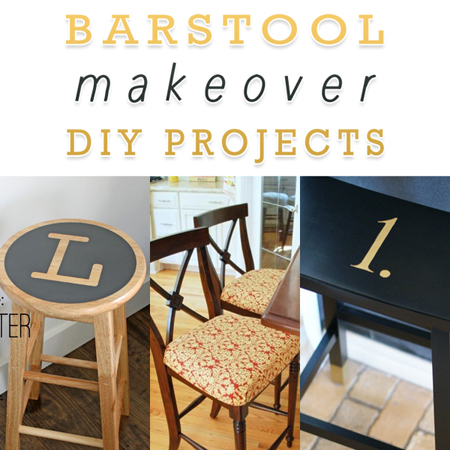 Barstool Makeover DIY Projects