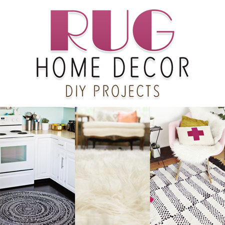 Rug Home Decor DIY Projects