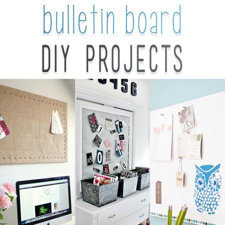 Bulletin Board DIY Projects
