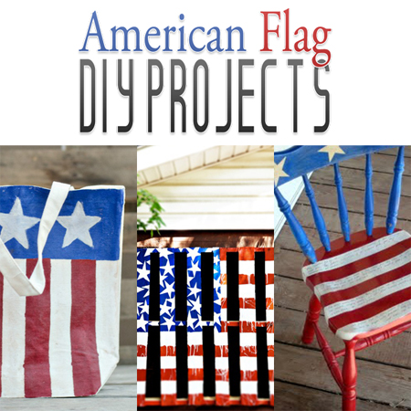 American Flag DIY Projects {4th of July}
