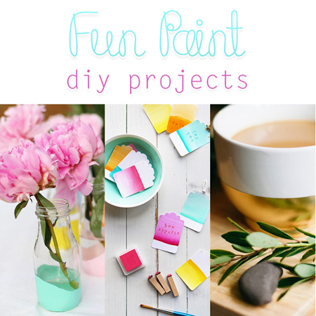 Fun Paint DIY Projects