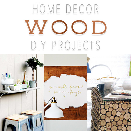 Home Decor Wood DIY Projects The Cottage Market