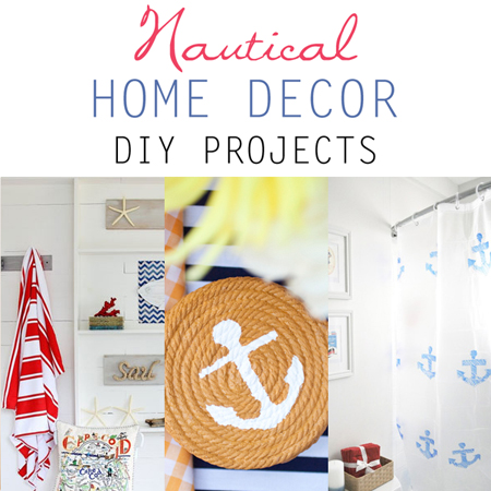Nautical home decor diy projects the cottage market for Nautical projects