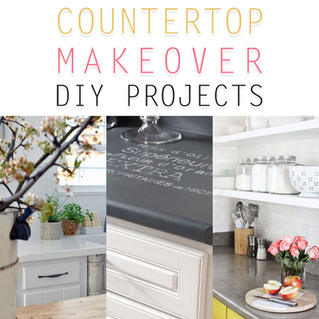 Countertop Makeover : Countertop Makeover DIY Projects - The Cottage Market